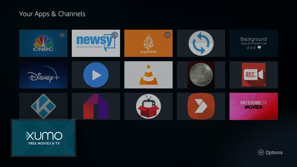 your apps and channels