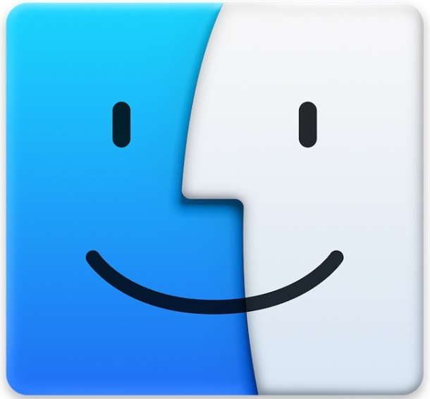Viewfinder of Mac OS X