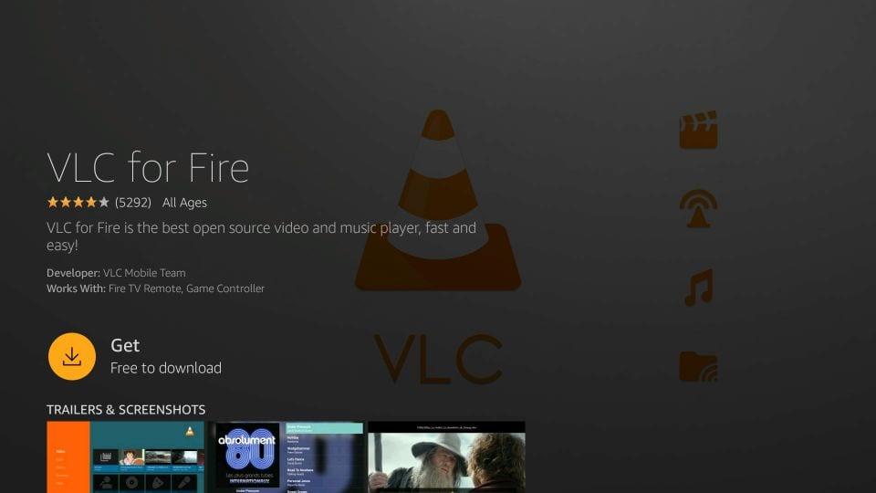 download ola TV on Firestick