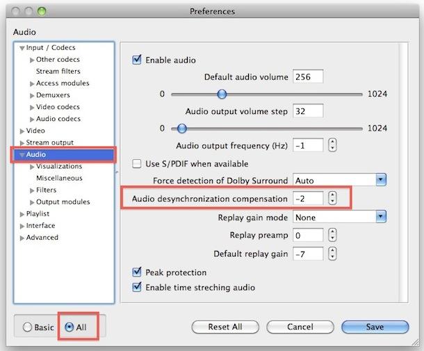fix audio sync mac