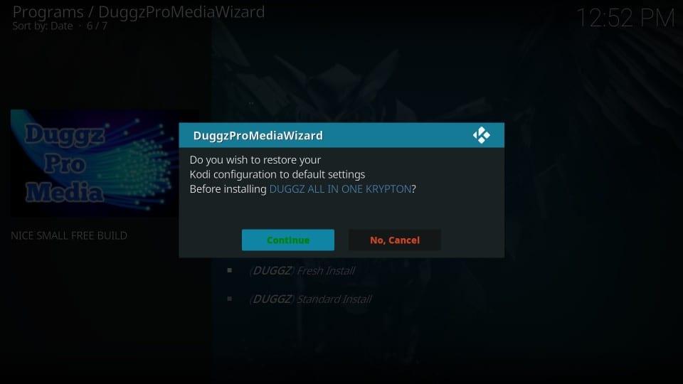 how to install duggz build on kodi