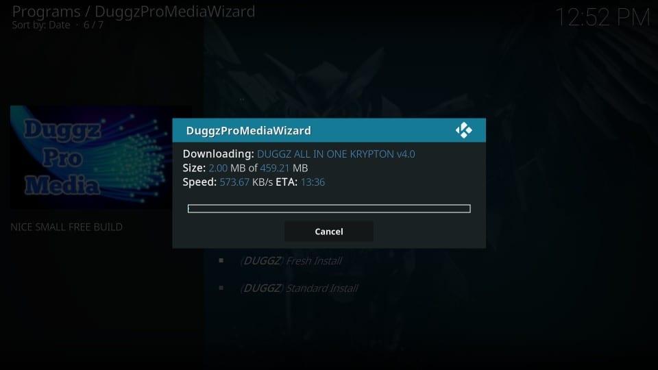 download duggz kodi build