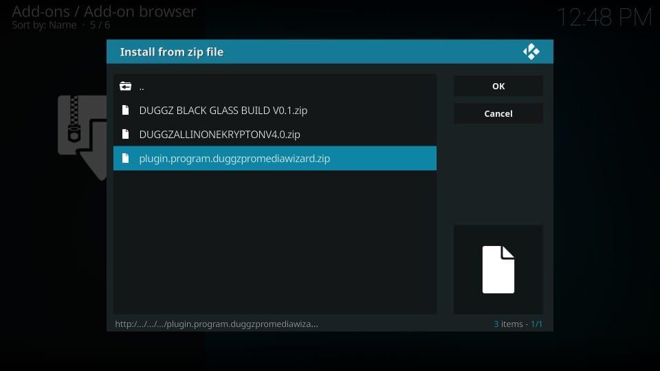 how to add duggz on kodi