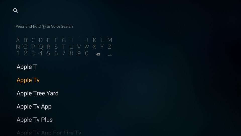 Apple TV for Amazon Fire TV devices