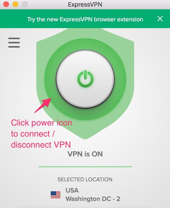 closes expressvpn for kodi
