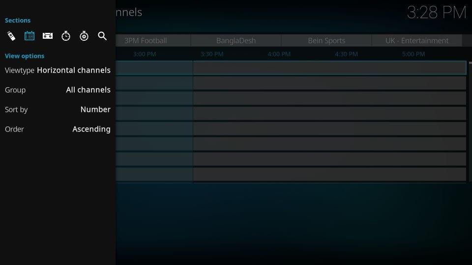 setup pvr iptv simple client on kodi
