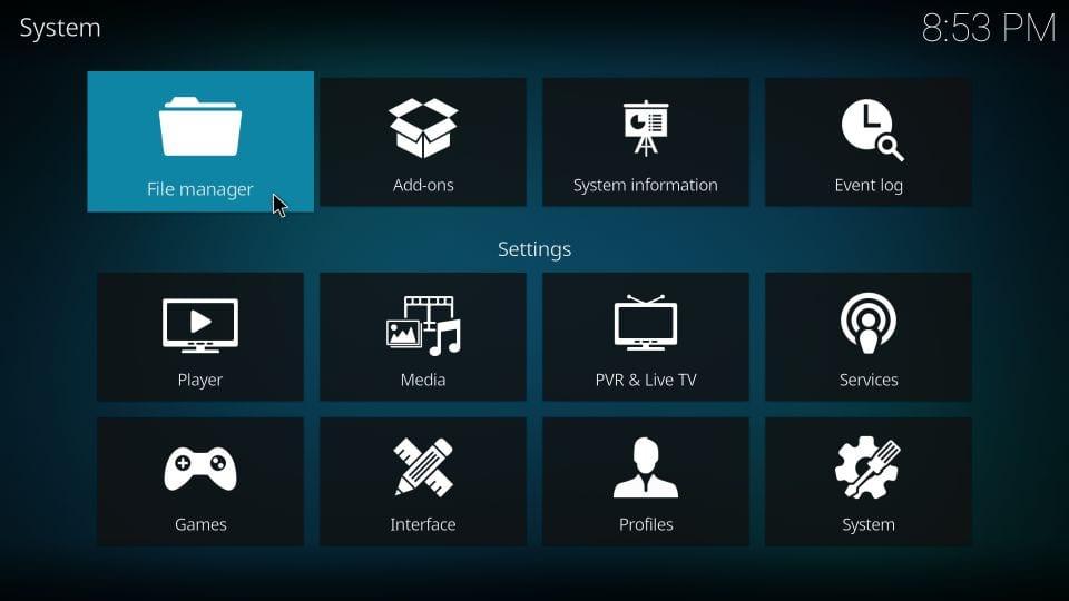 install eternal TV kodi addon