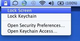 lock mac desktop