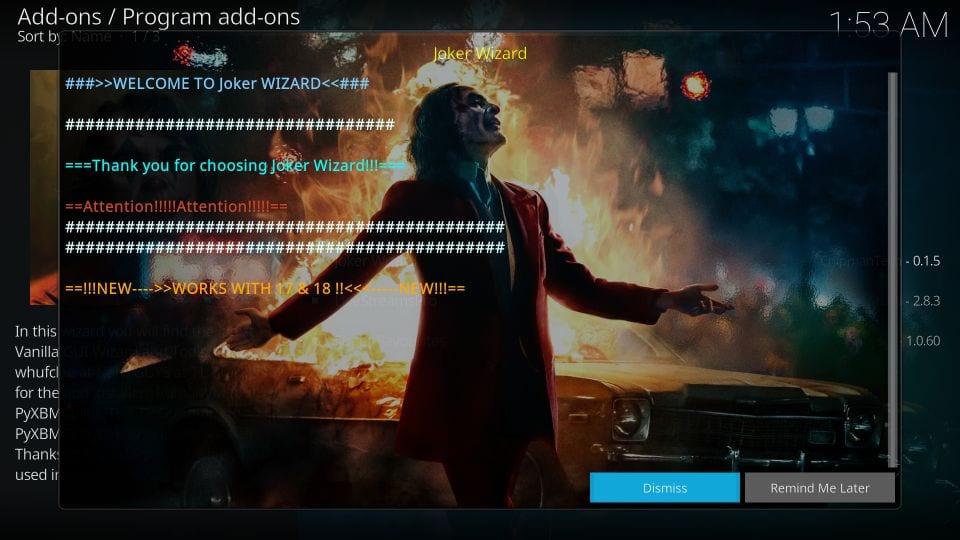 joker kodi builds