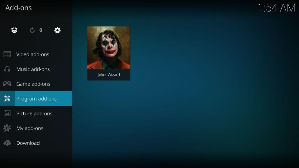 download kodi joker builds