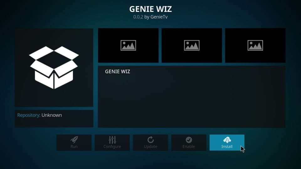 how to    install genius wiz