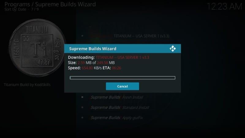 how to    use Titanium build