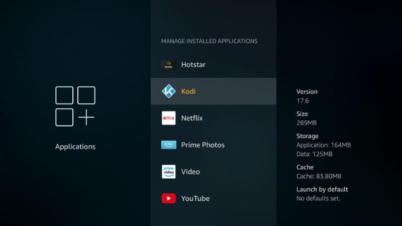 how to    remove kodi on firestick