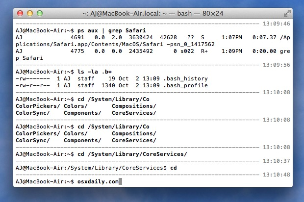 Custom Terminal separator and timestamp for Bash