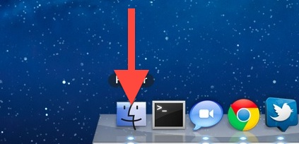 swipe down the open app in the Dock to view Expose in Lion