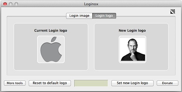 Customize the icon of the Mac OS X Lion login screen