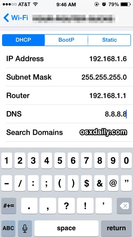 Speed up iPhone networks with new DNS