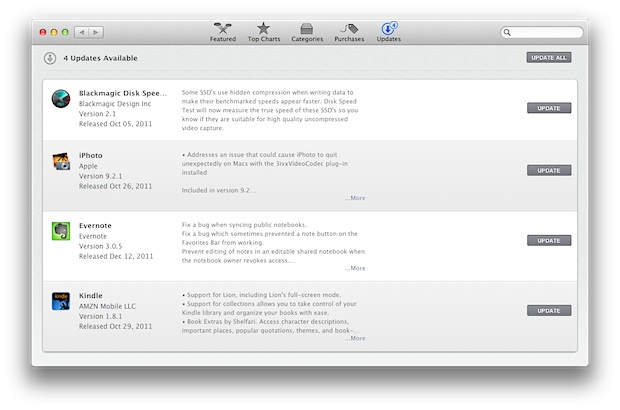 Updates to the Mac App Store