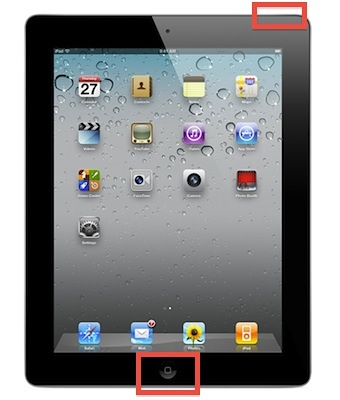 Take a screenshot on the iPad