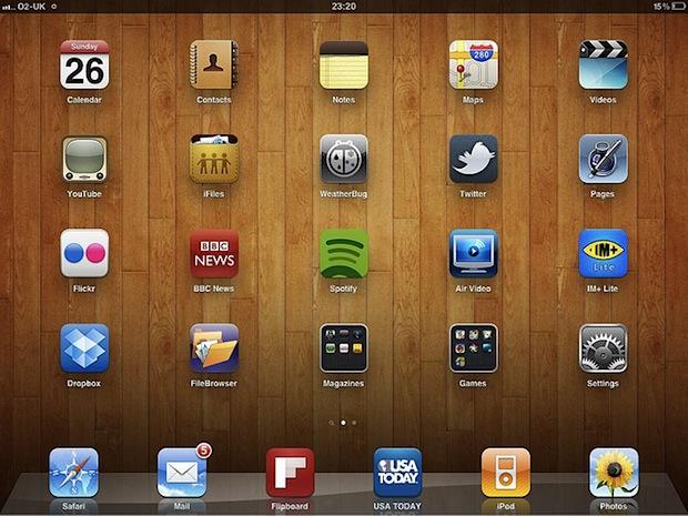 iPad screenshot example