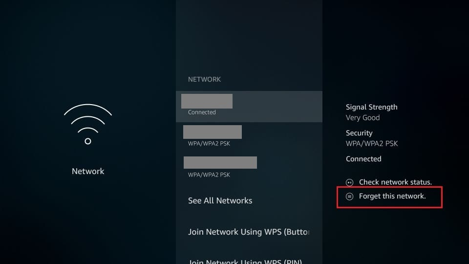 problem solving fire TV due to problems