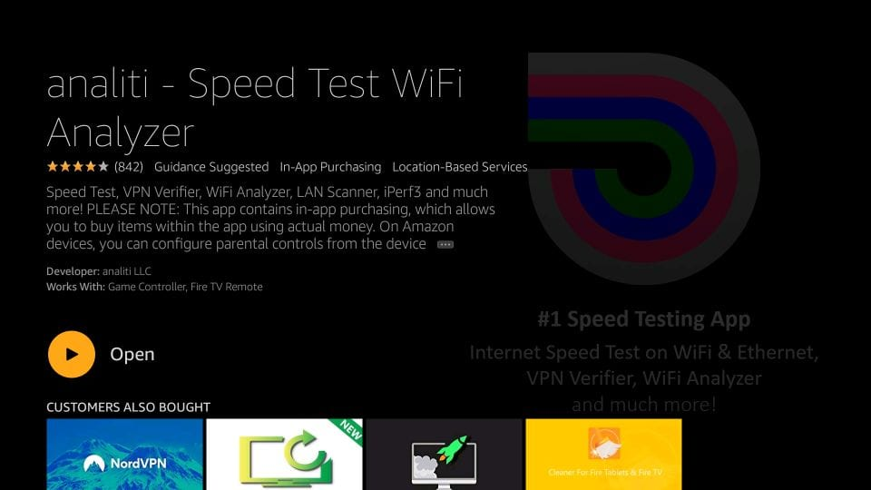 how to    check internet speed on fire TV