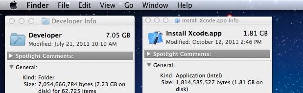 Remove Xcode