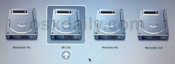 Dual Boot OS X Lion and OS X Mountain Lion