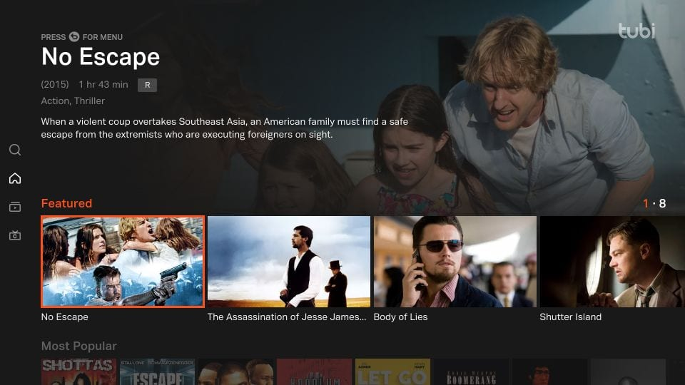 how to    use tubi TV on Firestick
