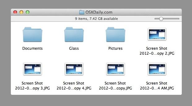 OS X Retro style