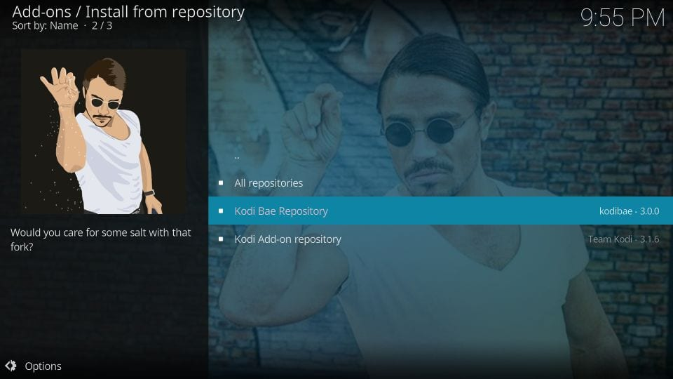 kodi repositories