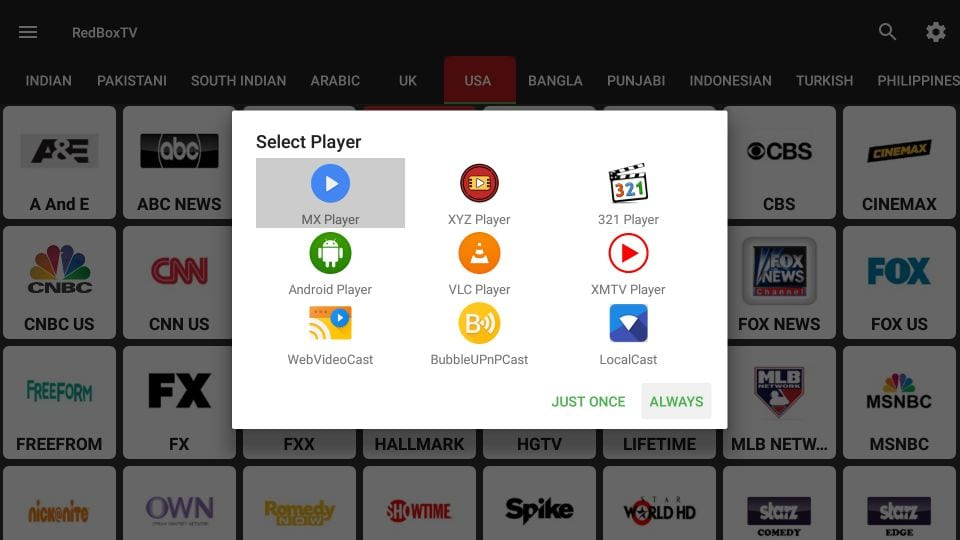 how to    live TV streaming with redbox TV on firestick