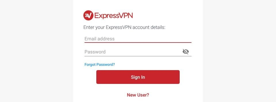 log in to expressvpn again after resetting firestick