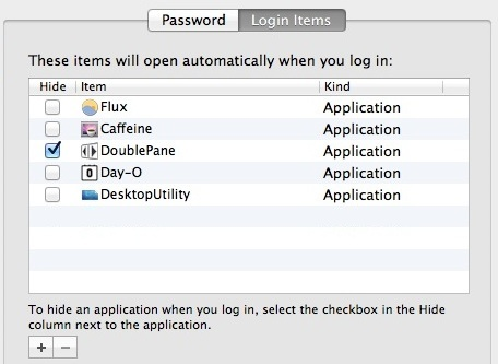 Removing things from login items helps boot faster