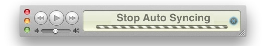 Stop syncing automatically in iTunes