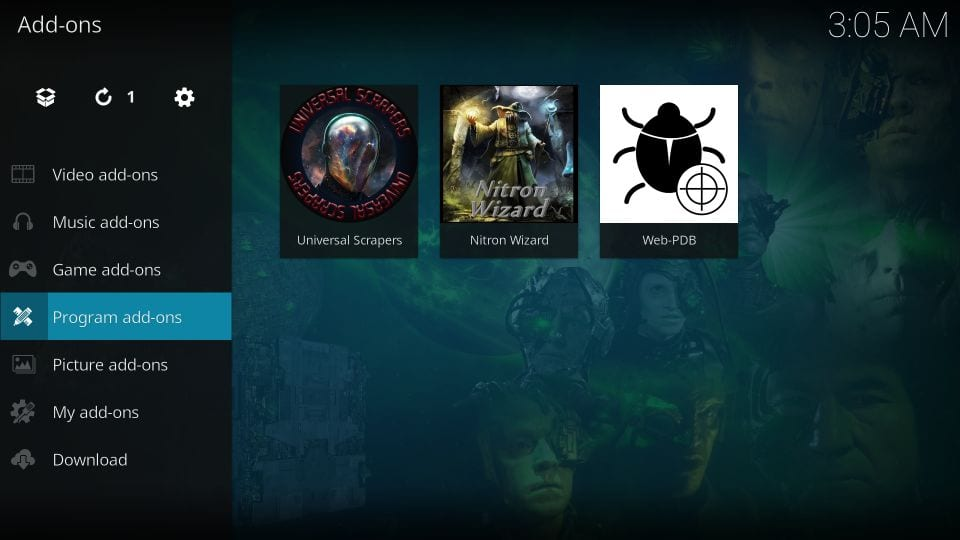 How to    build nitronx on install kodi