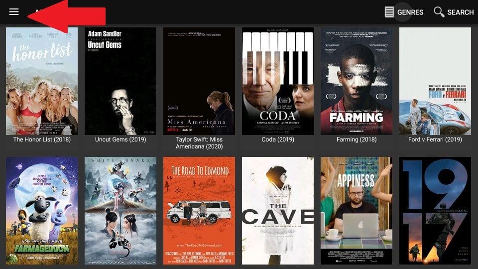 movie HD settings