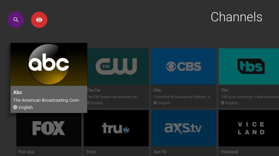 popular TV channels on firestick