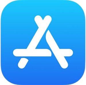 App Store logo in iOS
