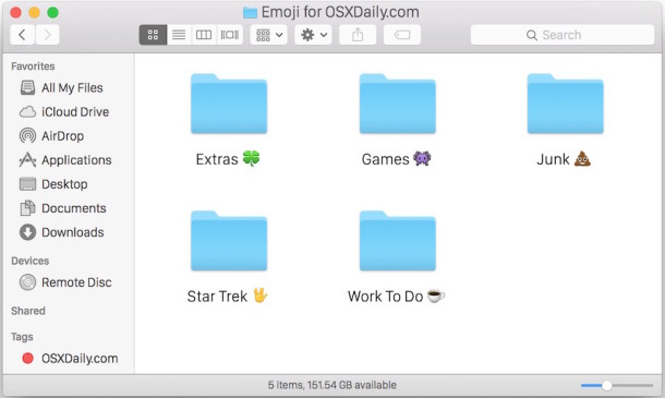 Type Finder icon in OS X