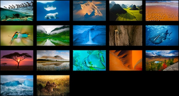 National Geographic wallpapers hidden in OS X