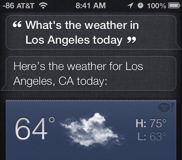 Get it again with Siri