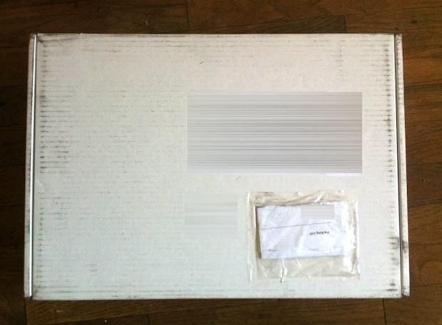 Refurbished Apple shipping box