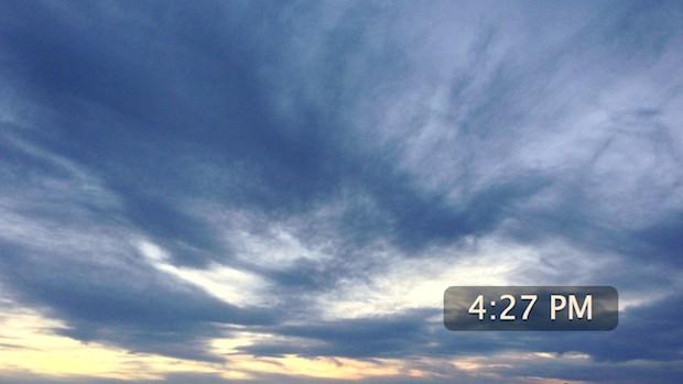 Photo stream screen saver