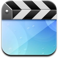 Video app icon in iOS