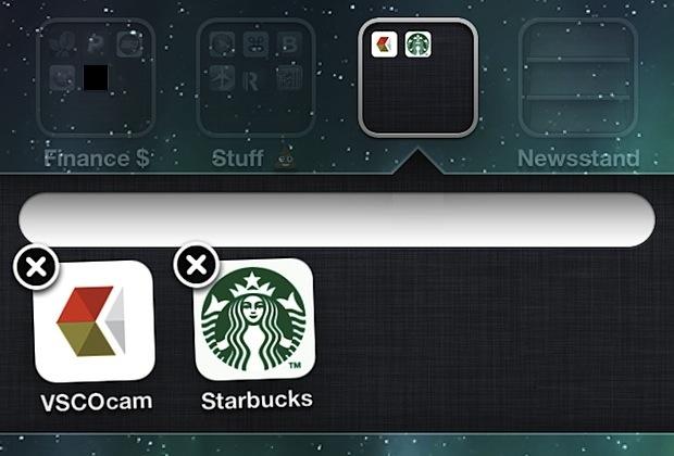 Create an empty folder name in iOS