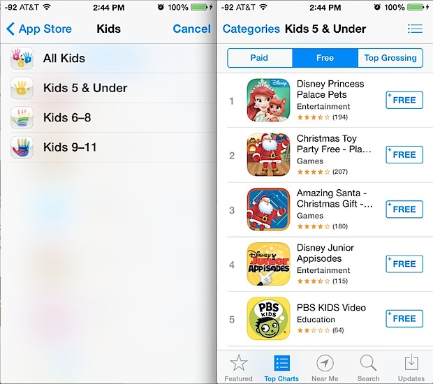 Free Kids apps in the App Store