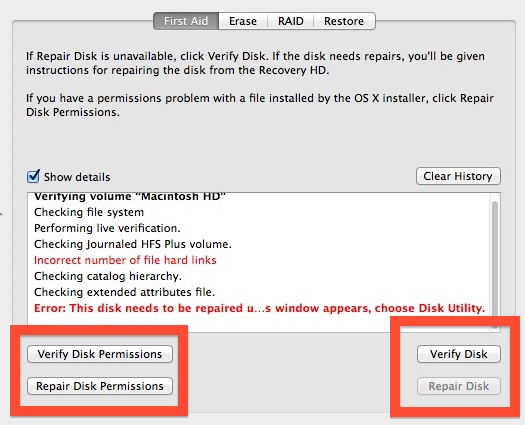 Recover with Disk Utility