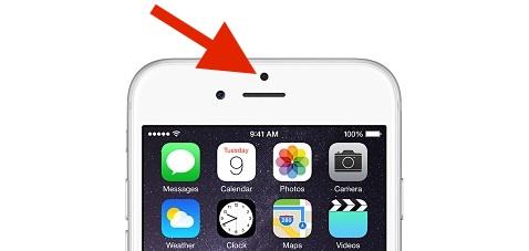 Proximity sensor on the iPhone