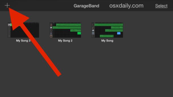 1-create-new-song-for-ringtone-garageband
